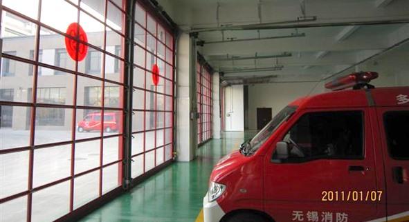 消防车库门_电动工业门|快速卷帘门|遥控车库门|自动
